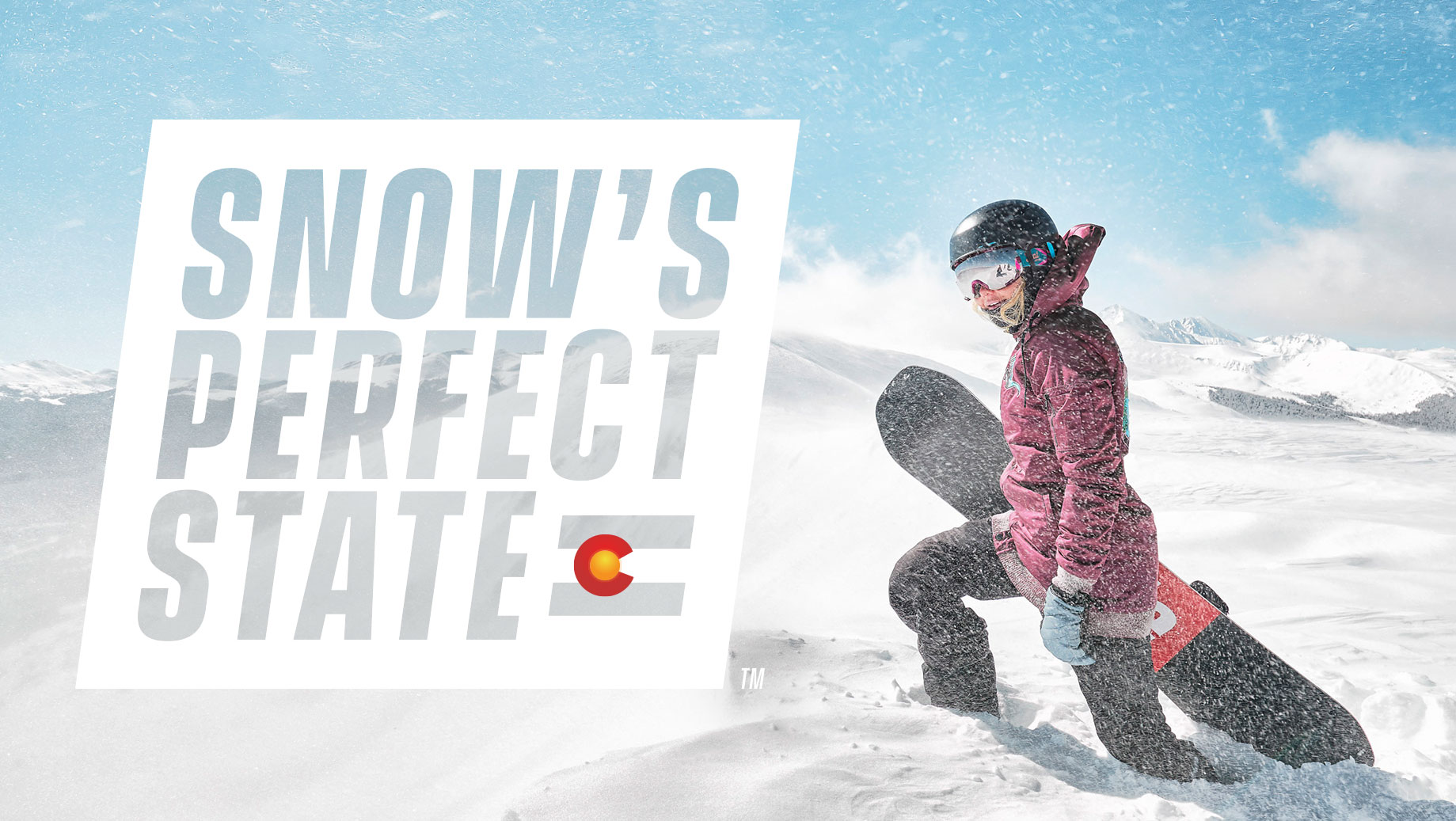 Colorado Tourism Office — Snow's Perfect State